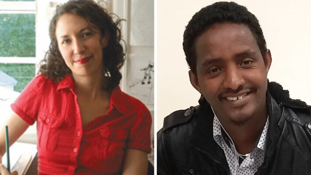 Victoria Jamieson & Omar Mohamed