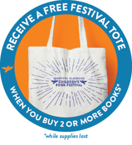 Receive a free festival tote when you buy 2 or more books - while supplies last