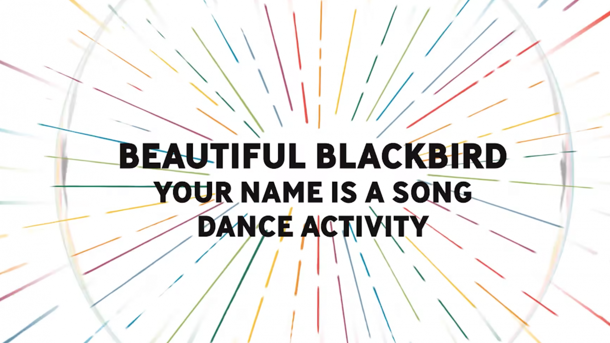 Your Name is a Song – Dance Activity